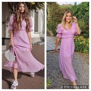NWT H&M 💜Blogger Fave💜 Lyocell-blend Maxi Dress